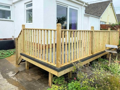 Raised Decking North Devon