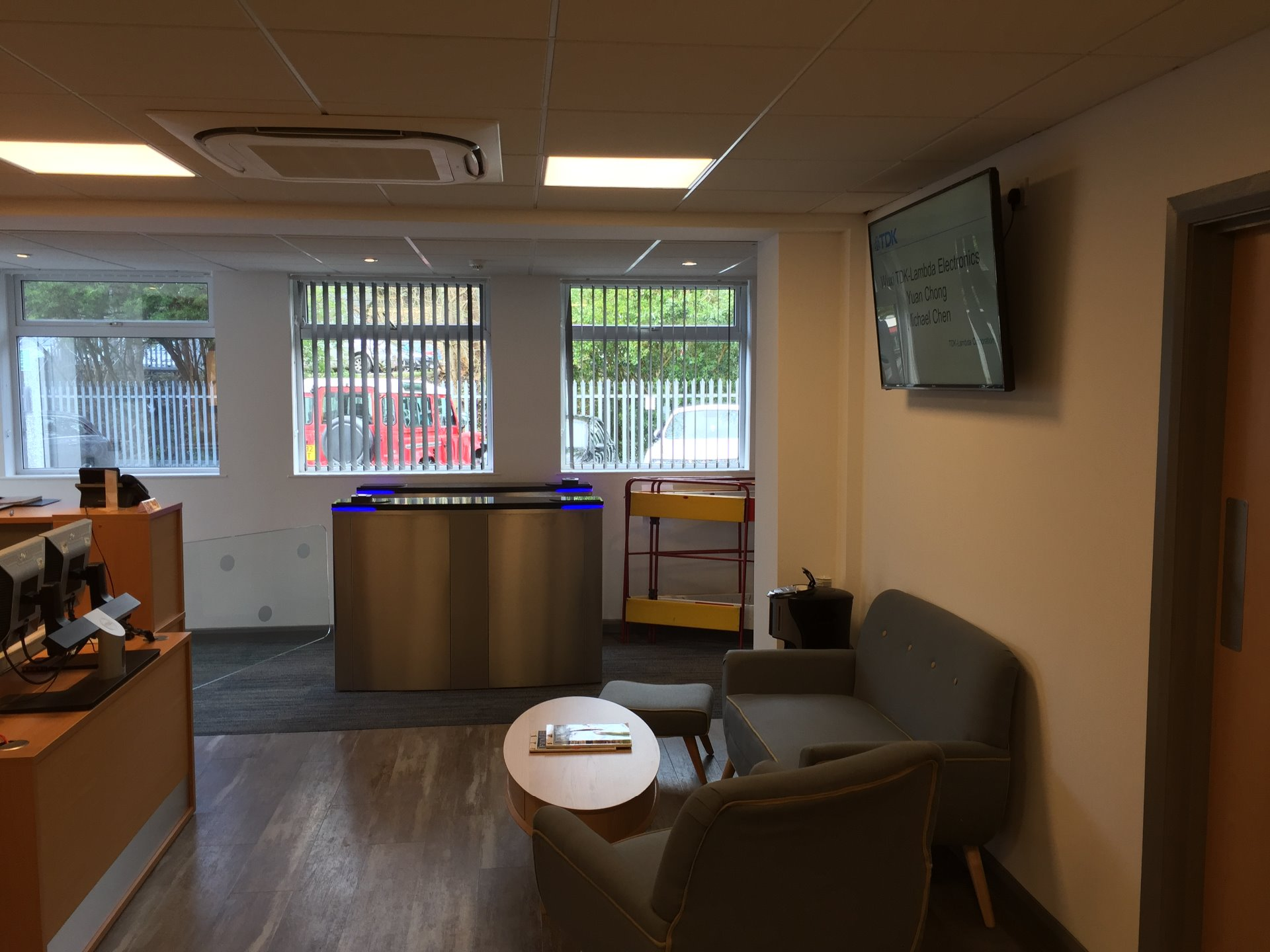 Commercial Re Fit Of Reception Area