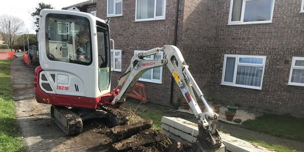 Ground works in Barnstaple and across North Devon