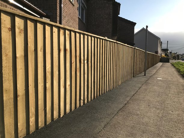 Wooden Fence in Barnstaple