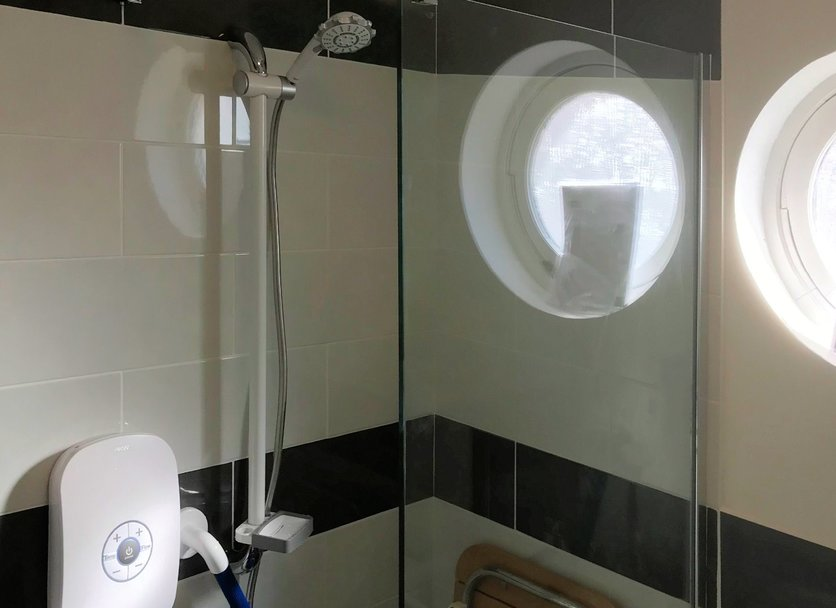 Bathroom easy access with shower wetroom installation in Barnstaple