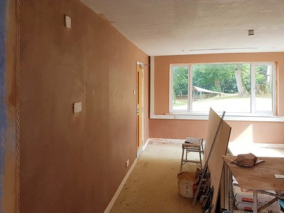 Finished surfaces plastered surfaces
