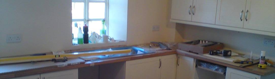 Complete kitchen installation in Barnstaple North Devon