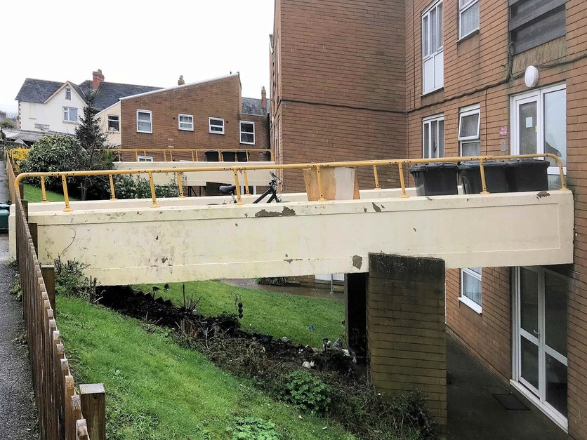 Bridge access refurbish project Barnstaple