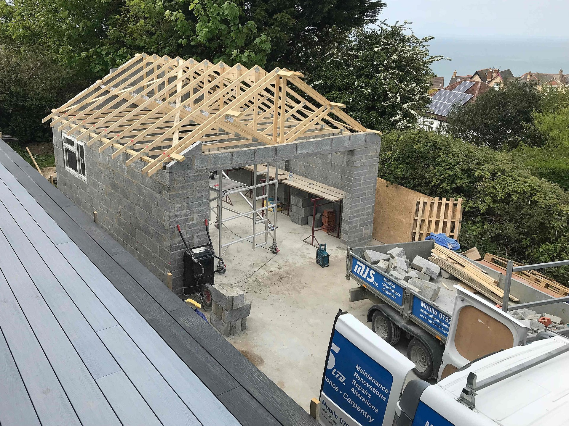 Garage Detached With Pitched Roof North Devon