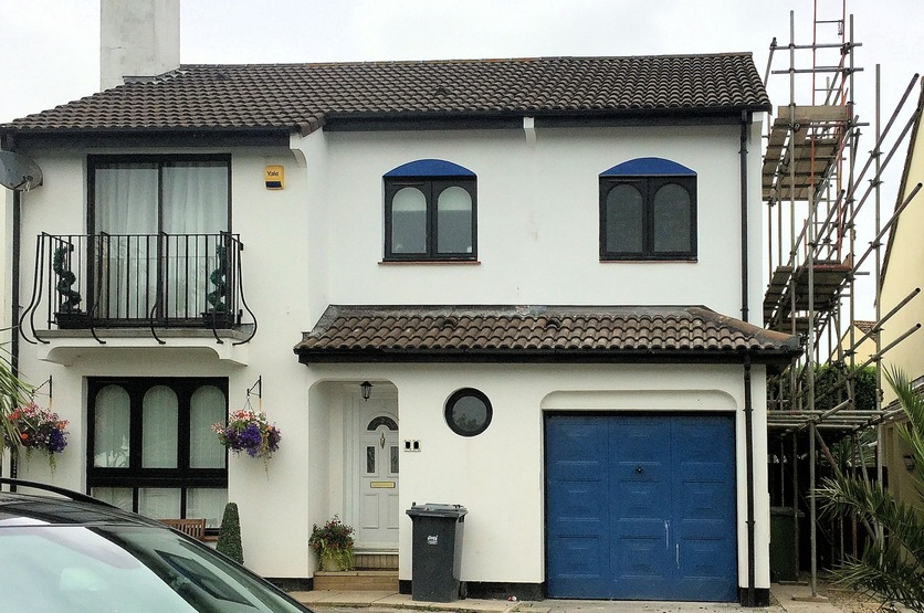 Domestic garage conversion Barnstaple Devon